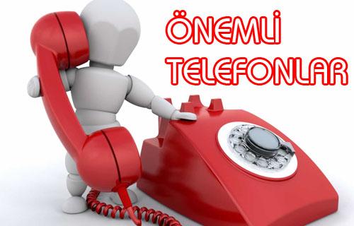 FIRTINA VE YAĞMURDAN YAŞANAN OLUMSUZLUKLAR İÇİN TELEFON NUMARALARI