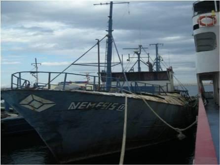 NEMESİS III TÖRENLE BATIRILDI