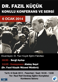 """DR. FAZIL KÜÇÜK"" SERGİSİ"