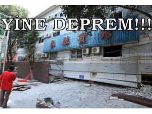 ÇİN'DE 7 BÜYÜKLÜĞÜNDE DEPREM: 46 ÖLÜ!