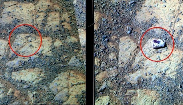 MARS'TA OLAĞANDIŞI GÖRÜNTÜ