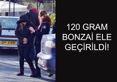 120 GRAM BONZAİ ELE GEÇİRİLDİ!