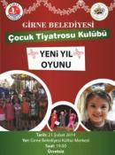 """GİRNE BELEDİYESİ ÇOCUK TİYATROSU KULÜBÜ'NDEN """"YENİ YIL"""" OYUNU..."""