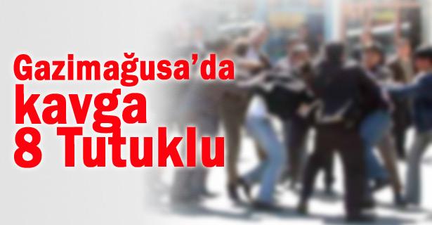 GAZİMAĞUSA'DA KAVGA EDEN 8 KİŞİ TUTUKLANDI!