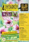 HİSARKÖY ORKİDE FESTİVALİ 1-2 MART'TA GERÇEKLEŞTİRİLECEK
