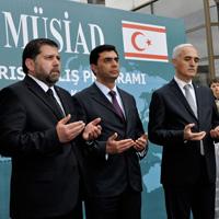 """""""MÜSİAD KIBRIS"""" DUALARLA AÇILDI"""