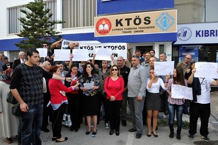 EĞİTİM ŞURASI KARARLARI EYLEMLE PROTESTO EDİLDİ