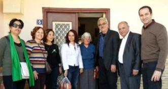 CTP KADIN ÖRGÜTÜ GÜZELYURT İLÇESİNDEN AYDINKÖY'DEKİ YAŞLILARA ZİYARET