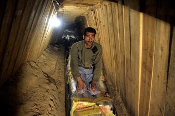 GAZZE'DEKİ TÜNELLER SANAYİ BÖLGESİ İŞLEVİ GÖRÜYOR