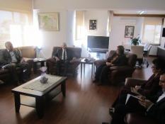ÇALIŞMA BAKANI GÜRPINAR, SOS ÇOCUK KÖYÜ DERNEĞİ BAŞKANI ÇERKEZ'İ KABUL ETTİ