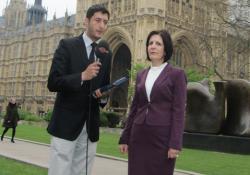 SİBER LONDRA'DA ECONOMİST, TRT TÜRK VE GENÇ TV'YE KONUŞTU