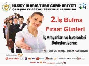 """""""KKTC 2. İŞ BULMA FIRSAT GÜNLERİ"""" YARIN!"""
