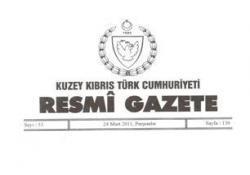 BAZI YASALAR, RESMİ GAZETE'DE YAYINLANDI