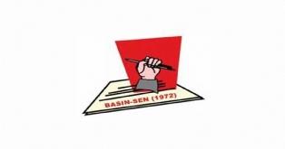 """BASIN-SEN: """"BASIN MESUPLARINA YAPILAN SALDIRIYI KINIYORUZ"""""""