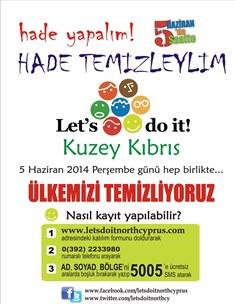 """""""HADE TEMİZLEYLİM""""E TELSİM'DEN DESTEK"""