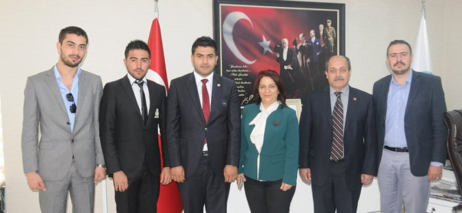 DAÜ REKTÖR YARDIMCISI PROF. DR. OSAM SOMA'YI ZİYARET ETTİ