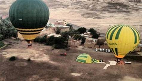 PERU'DA HAVA BALONU DÜŞTÜ: 2 KİŞİ KAYIP