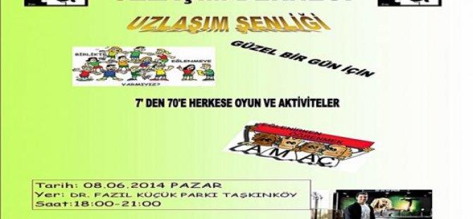 """UZLAŞIM DERNEĞİ'NDEN """"UZLAŞIM FESTİVALİ"""""""