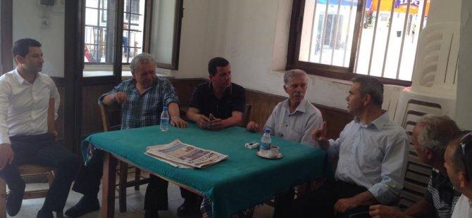 ULUÇAY CTP-BG'NİN ADAYI KIROK'LA ÇATALKÖY'Ü GEZDİ