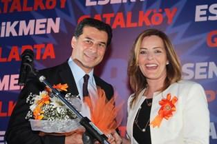 UBP, GİRNE'DE TANITIM GECESİ DÜZENLEDİ
