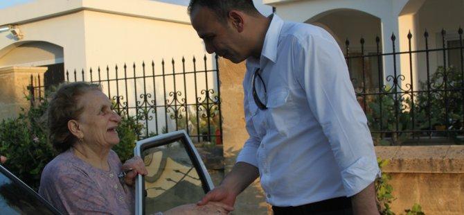 HARMANCI VE BELEDİYE MECLİS ÜYESİ ADAYLARI HAMİTKÖY'Ü ZİYARET ETTİ