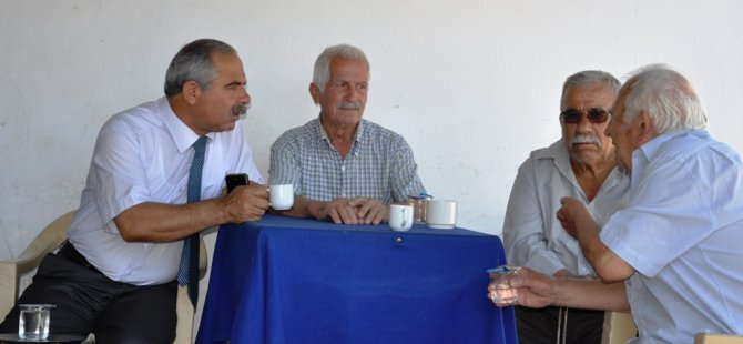 CTP-BG DEĞİRMENLİK BELEDİYE BAŞKAN ADAYI IŞISAL, KÖY GEZİLERİNİ SÜRDÜRÜYOR