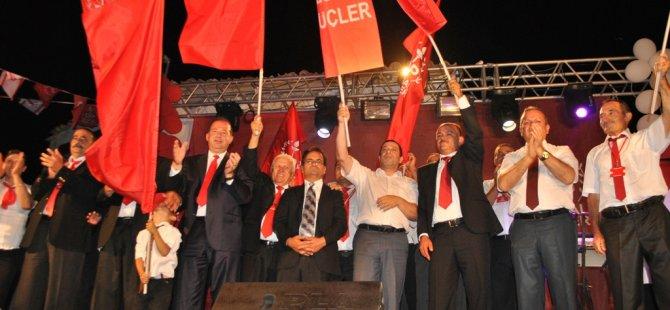 DP-UG'NİN SERDARLI MİTİNGİ