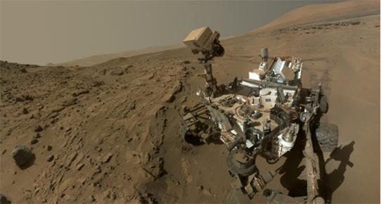 MARS'TAN İLK SELFİE