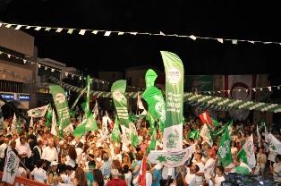 CTP-BG GAZİMAĞUSA'DA MİTİNG DÜZENLEDİ