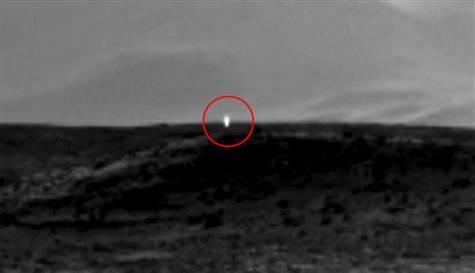 MARS'TAKİ GÖRÜNTÜ HEYECAN YARATTI