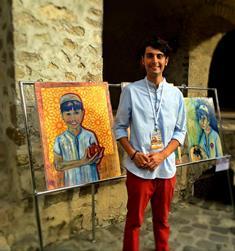 KEMAL BEHÇET CAYMAZ'IN RESİMLERİ AZERBAYCAN'DA SERGİLENDİ