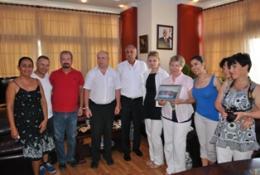 GÜNGÖRDÜ, POLONYA'LI EĞİTİMCİLERİ KABUL ETTİ