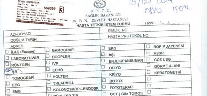 MR İÇİN ARALIK'A RANDEVU VERİLDİ
