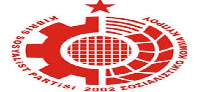 """KSP, """"KIBRIS KOMÜNİST PARTİSİ""""NİN KURULUŞ YILDÖNÜMÜ DOLAYISIYLA MESAJ YAYINLADI"""