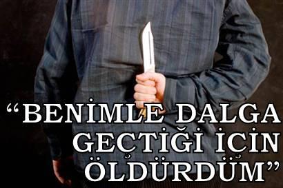 'YAŞIYLA DALGA GEÇEN OĞLUNU ÖLDÜRDÜ!'