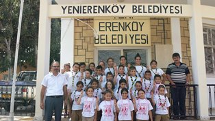 SOS ÇOCUK KÖYÜ İZCİLERİ YENİERENKÖY'DE KAMP YAPIYOR