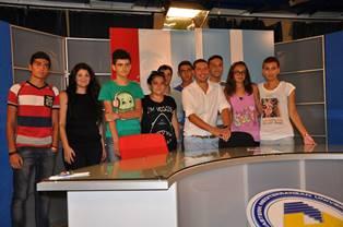AZERBAYCANLI ÖĞRENCİLER DAÜ TV VE RADYO DAÜ'DE…