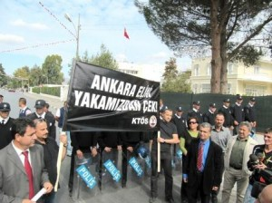 ERDOĞAN PROTESTOSUNA ŞOK MANŞET!