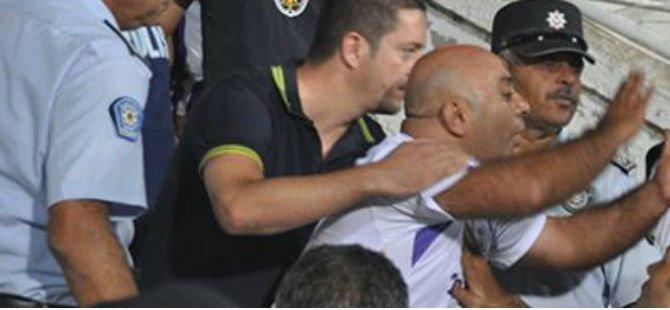 """SÜPER KUPA MAÇINDA GALİP POLİS YUMRUKLARI"""
