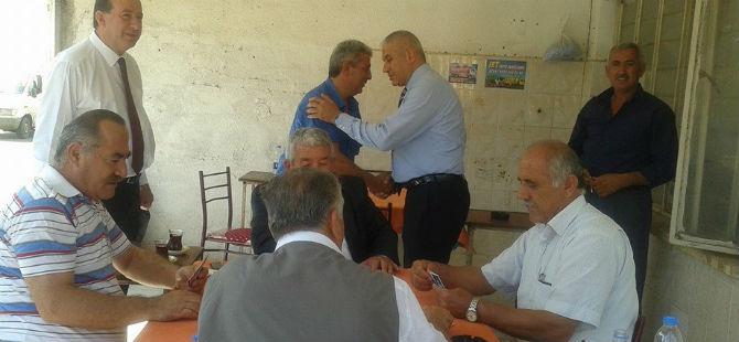 DP GAZİMAĞUSA'DA VATANDAŞLARLA BAYRAMLAŞTI