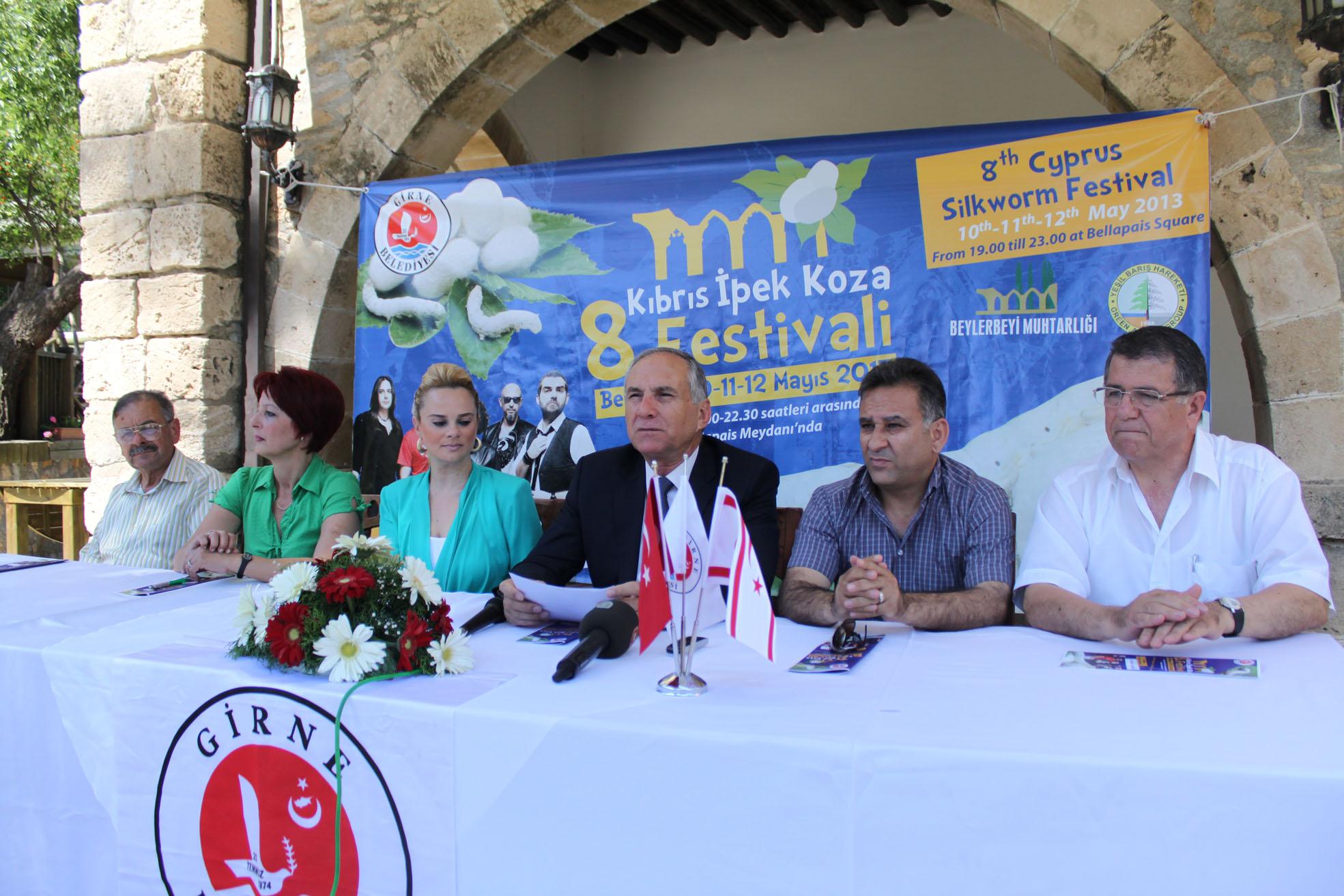 KIBRIS İPEK KOZA FESTİVALİ 10 MAYIS'TA BAŞLIYOR