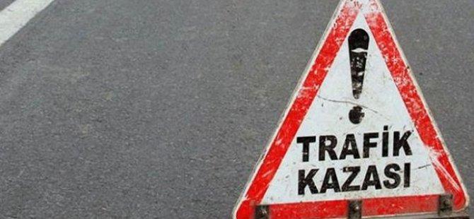TRAFİK KAZASI BİR CAN DAHA ALDI!