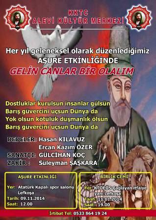 """AŞURE ETKİNLİĞİ VE """"BİRLİK CEMİ"""""""