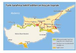 """""""RUMLAR, KIBRIS'IN YÜZDE 75'İNİ İSTİYOR..."""""""