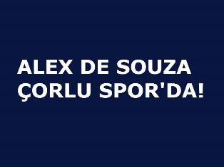 ALEX DE SOUZA ÇORLU SPOR'DA!