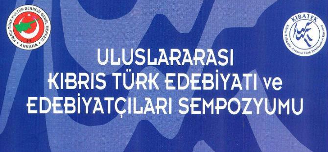 """""""ULUSLARARASI KIBRIS TÜRK EDEBİYATI VE EDEBİYATÇILARI SEMPOZYUMU"""""""