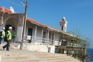 APOSTOLOS ANDREAS MANASTIRI'NDA ÇALIŞMALAR DEVAM EDİYOR