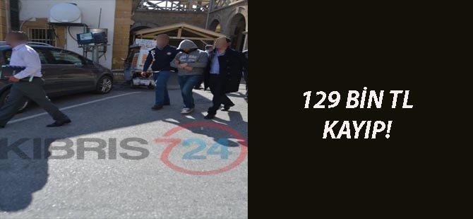 129 BİN TL KAYIP!