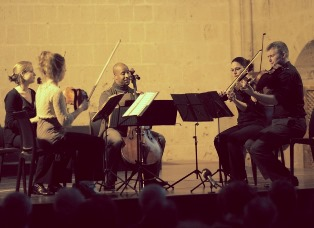 APPLE HİLL STRİNG QUARTET GRUBU KKTC'DE KONSER VERDİ