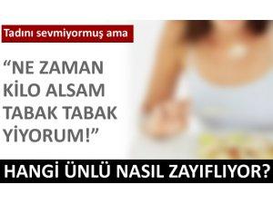 STARLARIN 15 DİYET SIRRI!